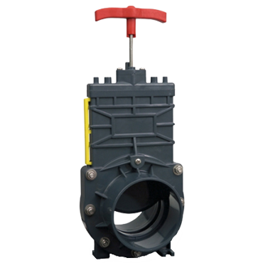 "Isolating valve 4""/100mm"